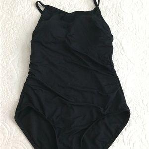 Jantzen Black One Piece Swimsuit
